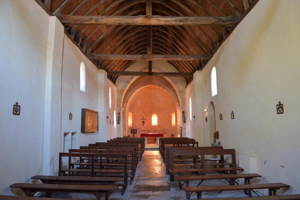 Santilly -Eglise Saint-Victor (XIIe s.)