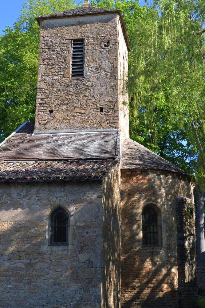 Varennes-lès-Mâcon - Eglise Saint-Marcel (XIIe s.)